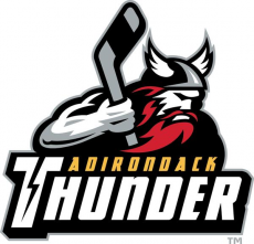 Adirondack Thunder 2015 16-2017 18 Primary Logo decal sticker