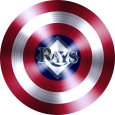 Captain American Shield Logo Iron Ons