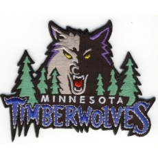 Minnesota Timberwolves Embroidery logo