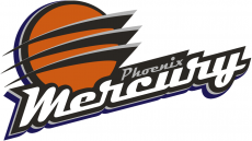Phoenix Mercury 2011-Pres Primary Logo decal sticker