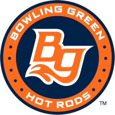 Bowling Green Hot Rods 2016-Pres Primary Logo iron on sticker