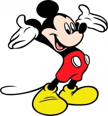 Mickey Mouse Logo 26 iron on sticker