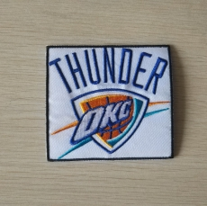 Oklahoma City Thunder Embroidery logo