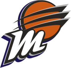 Phoenix Mercury 2011-Pres Alternate Logo decal sticker