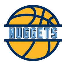 Basketball Denver Nuggets Logo iron on sticker