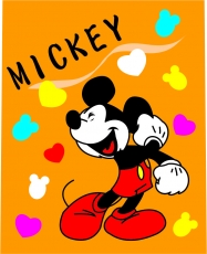 Mickey Mouse Logo 20 iron on sticker