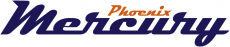 Phoenix Mercury 2011-Pres Wordmark Logo decal sticker
