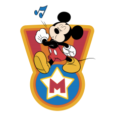 Mickey Mouse Logo 03 iron on sticker